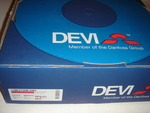 Ostan küttekaablit Deviflex 1880 W, 105 m, 230 V, DTIP-18 W/m.