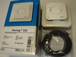 Ostan termostaate Devireg™ 530 (15А) 3450 W.