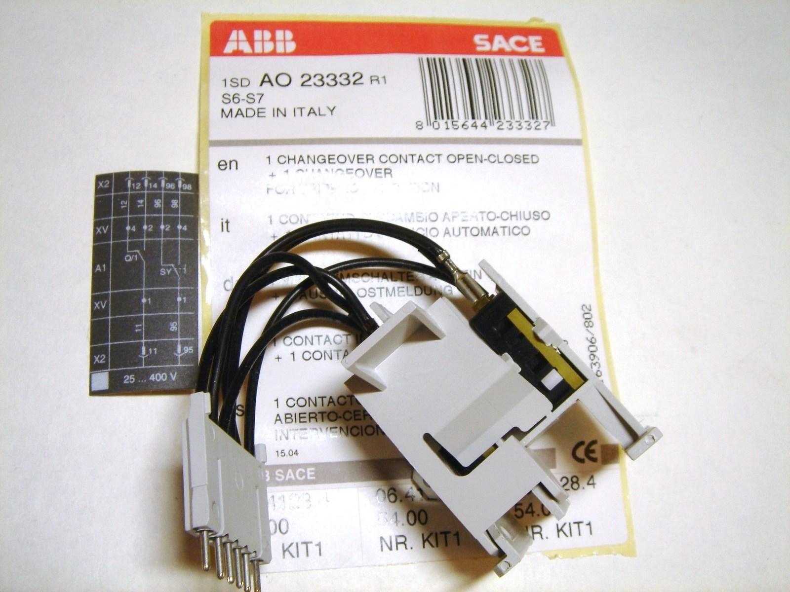 1 NO/NC abikontakt + 1 signaalkontakt, 1SDA023332R1