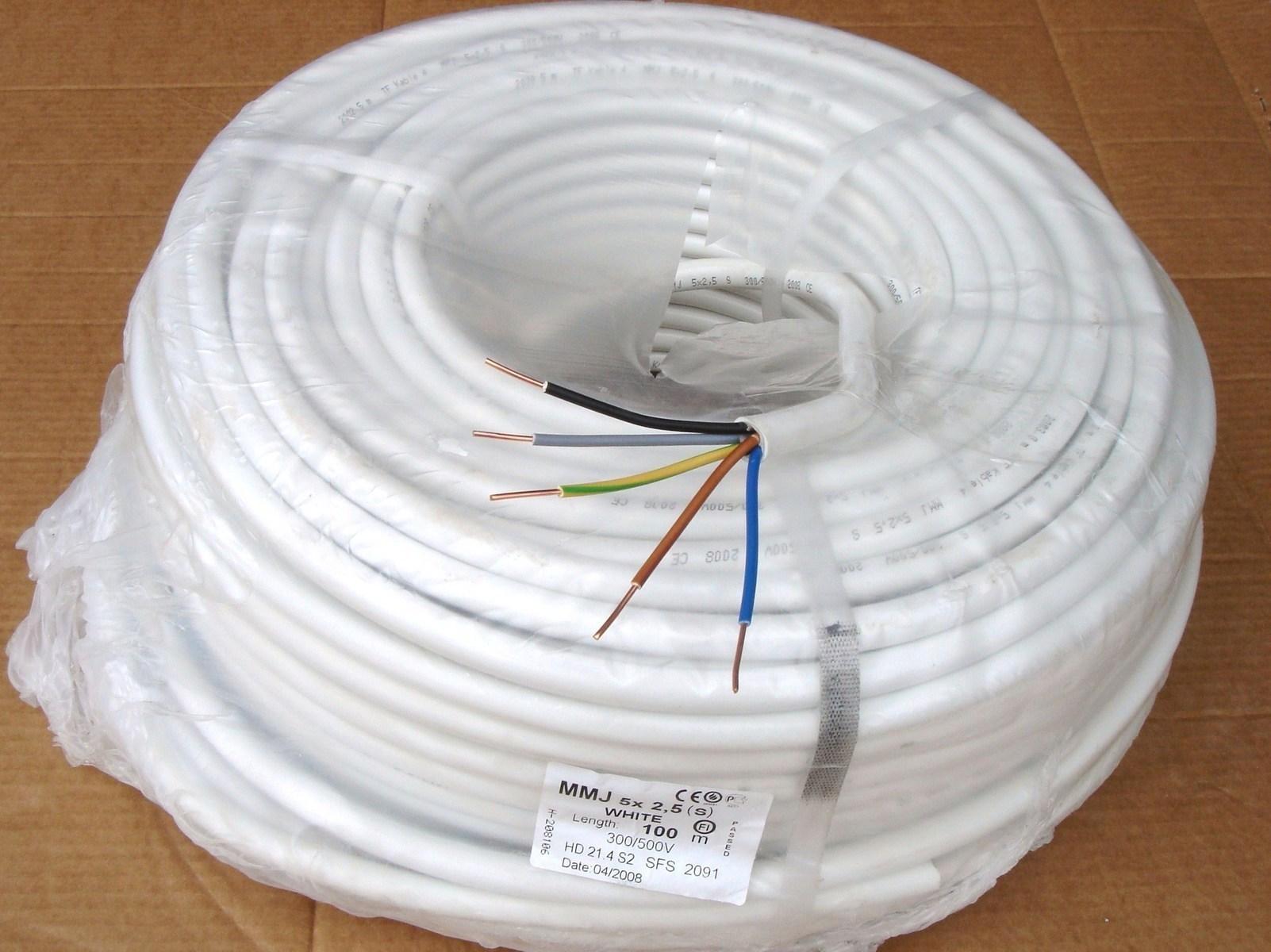 Vaskkaabel 5 G 2,5 mm², XYM-J, Draka, Keila Cables