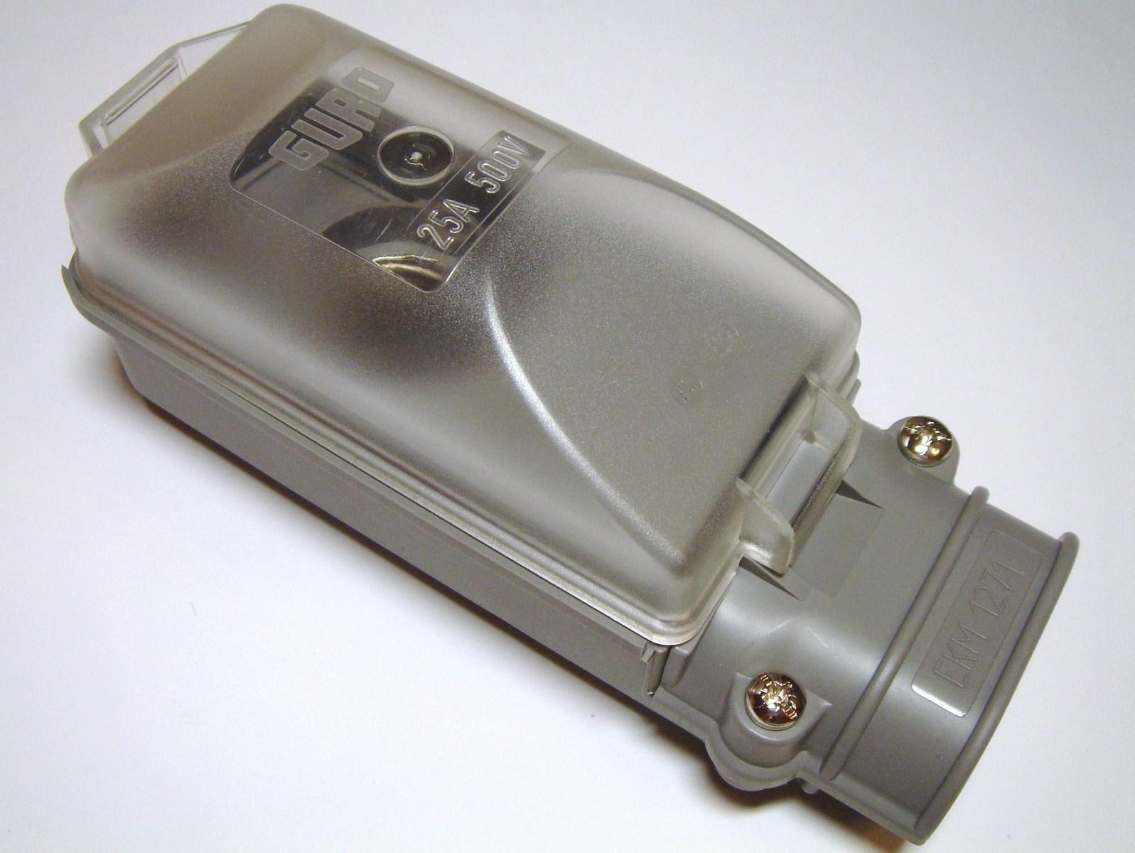 Tänavavalgustusposti ühenduskarp EKM-1271-1D2-4-16, Tyco Electronics