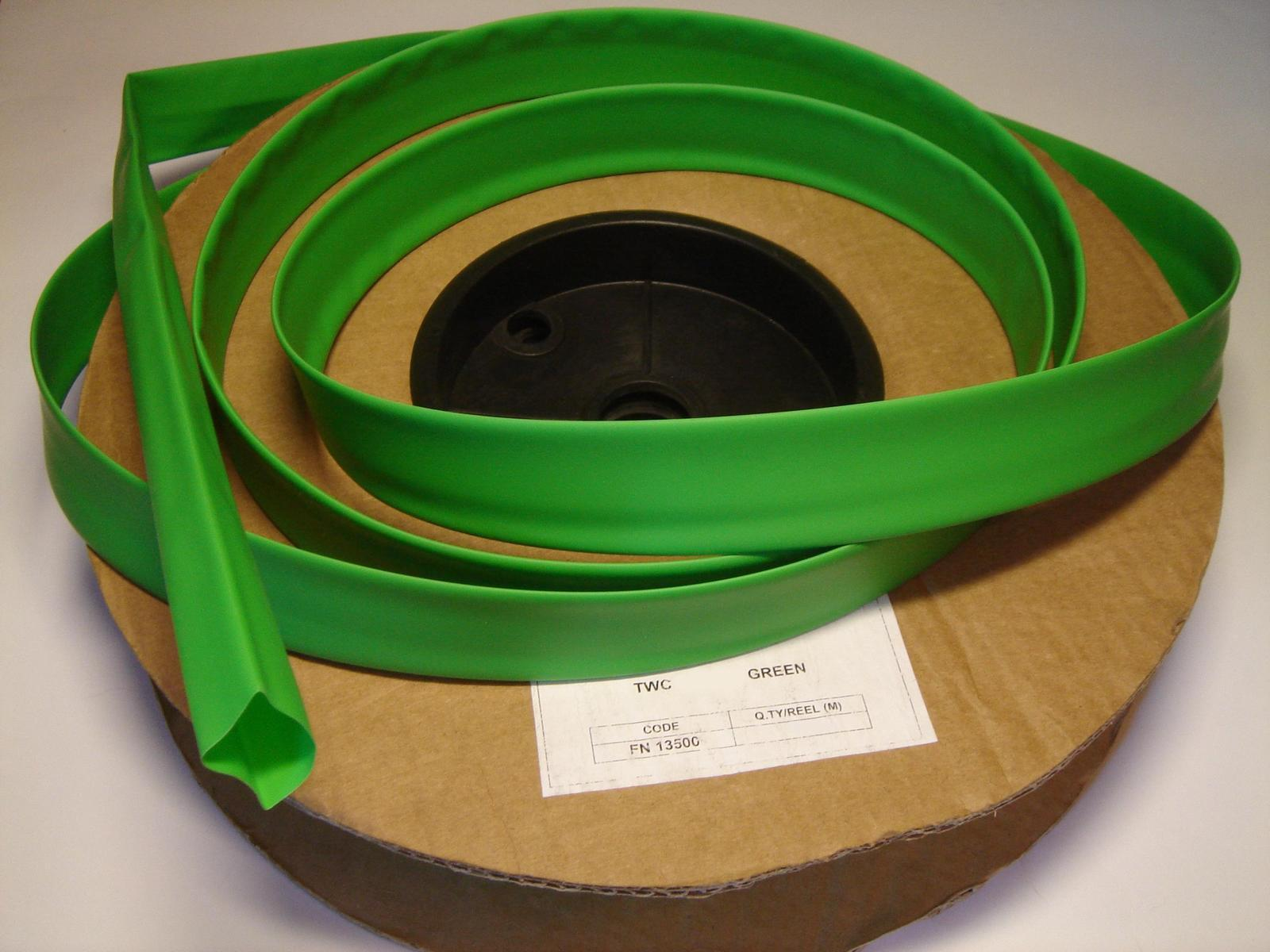 Termokahanev toru Ø12,7/6,4 mm,   roheline  , Plastronic