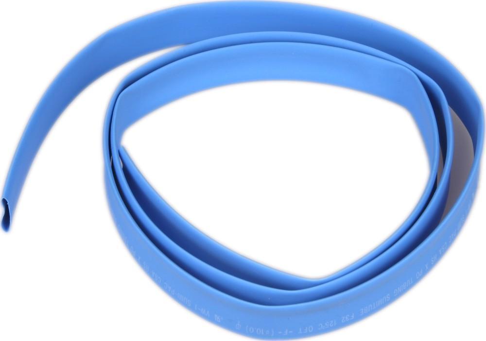Termokahanev toru Ø12,7/6,4 mm,   sinine  , Plastronic