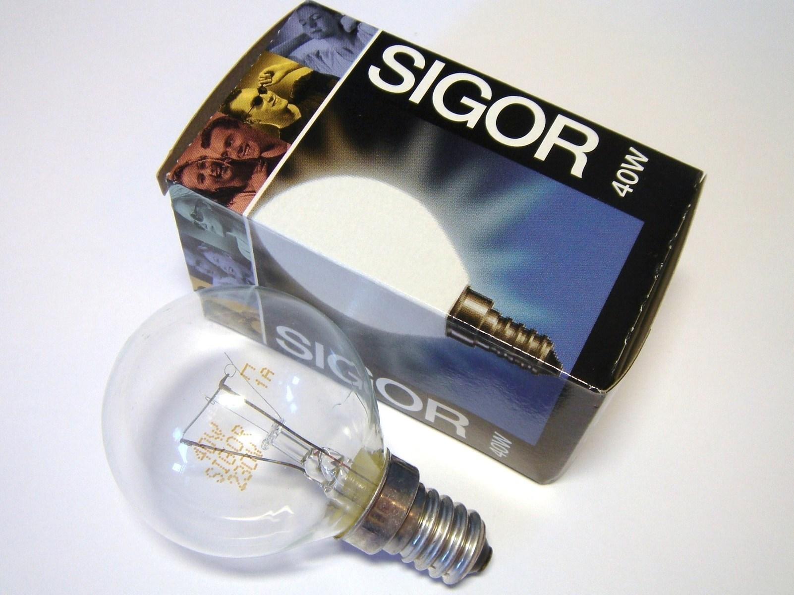 Hõõglamp 40 W, Sigor, 13140
