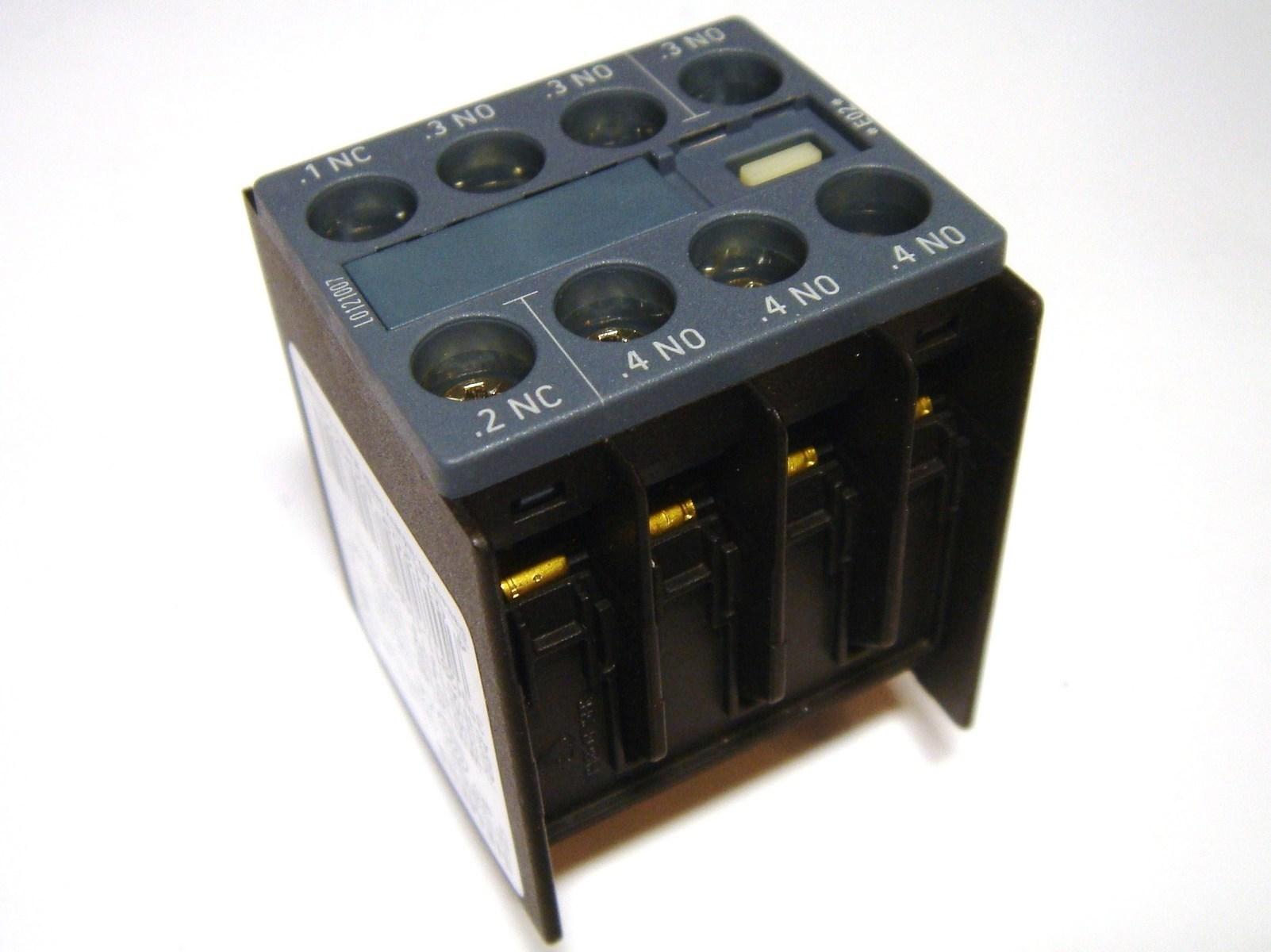 Lisakontaktid peale 3NO+1NC, Siemens, 3RH2911-1HA31