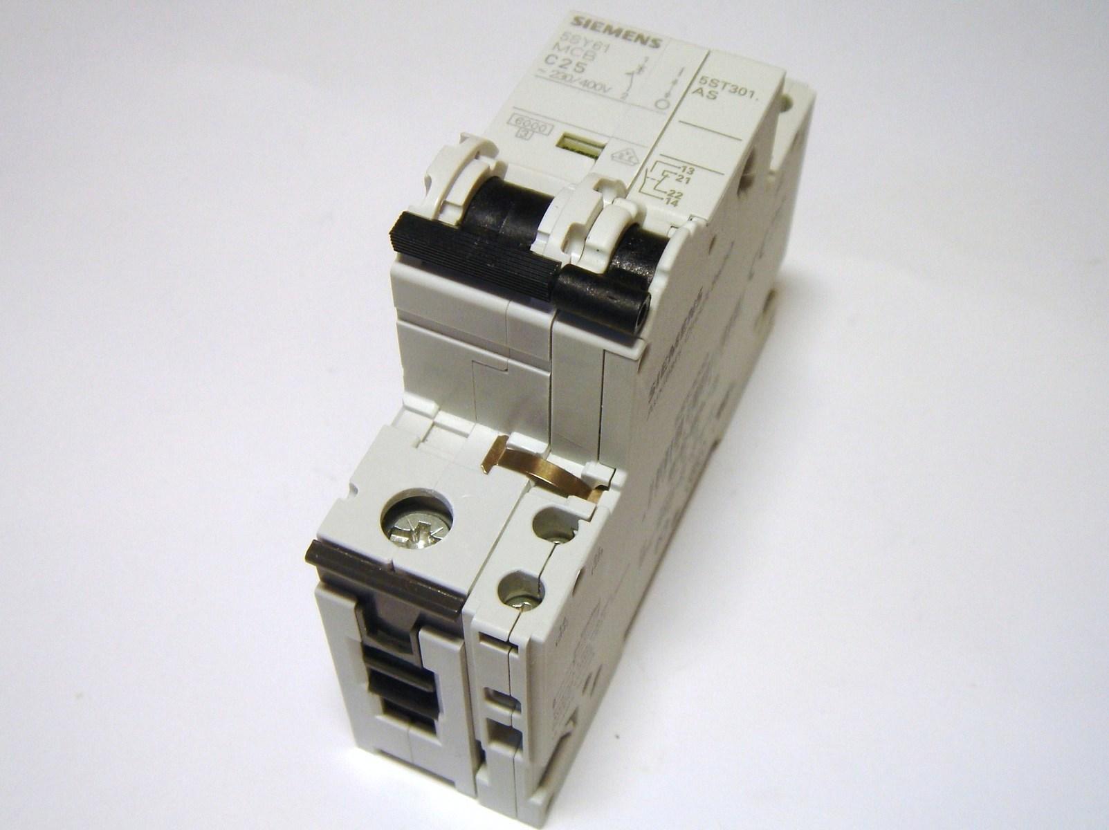 Moodulkaitselüliti 1-faasiline, C 25A, Siemens, 5SY6125-7