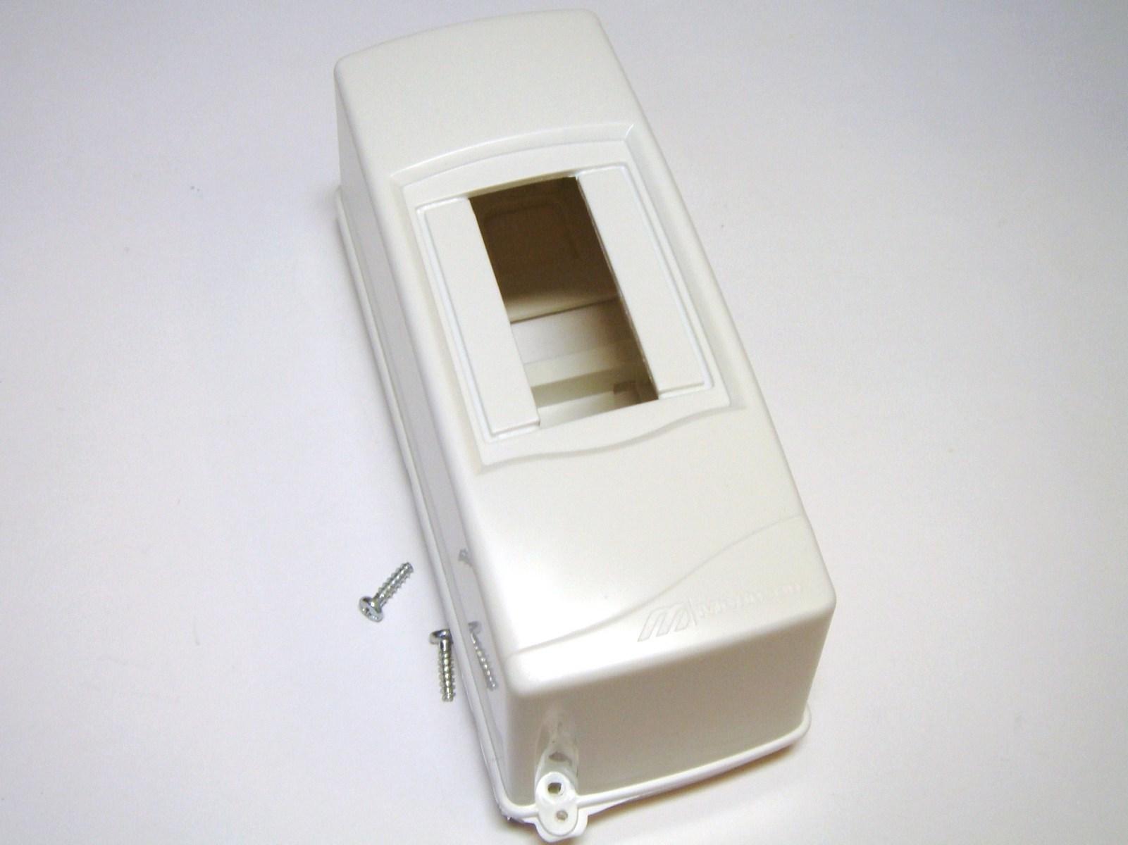 Elektrikilp pinnapealne 2 moodulit, Mutlusan electric, Meksbox