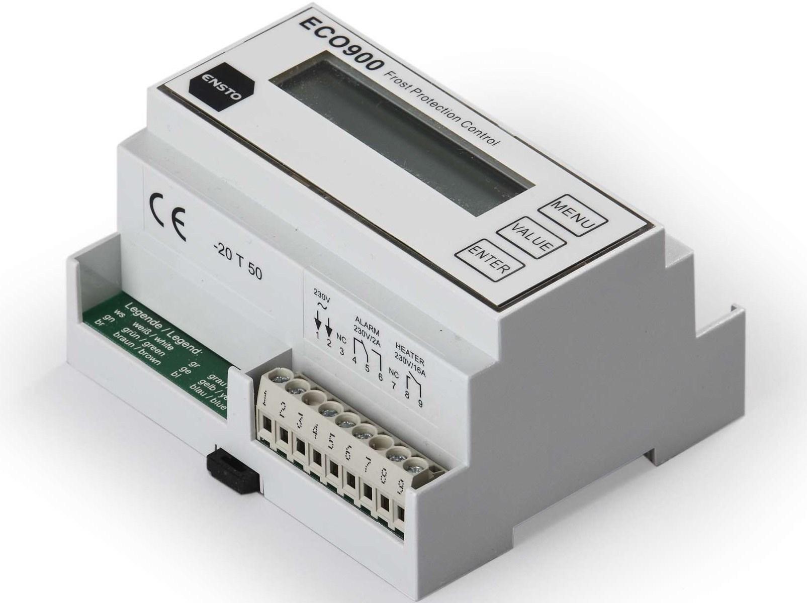 Termostaat ECO900, Ensto, (16А) 3600 W.