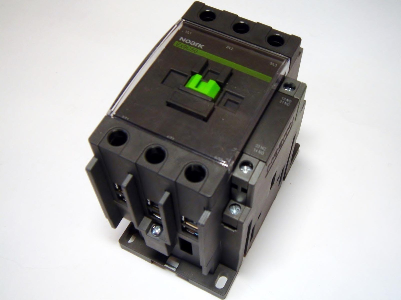 Kontaktor 3-faasiline 80A(50kW), Ex9C50, Noark, 101260