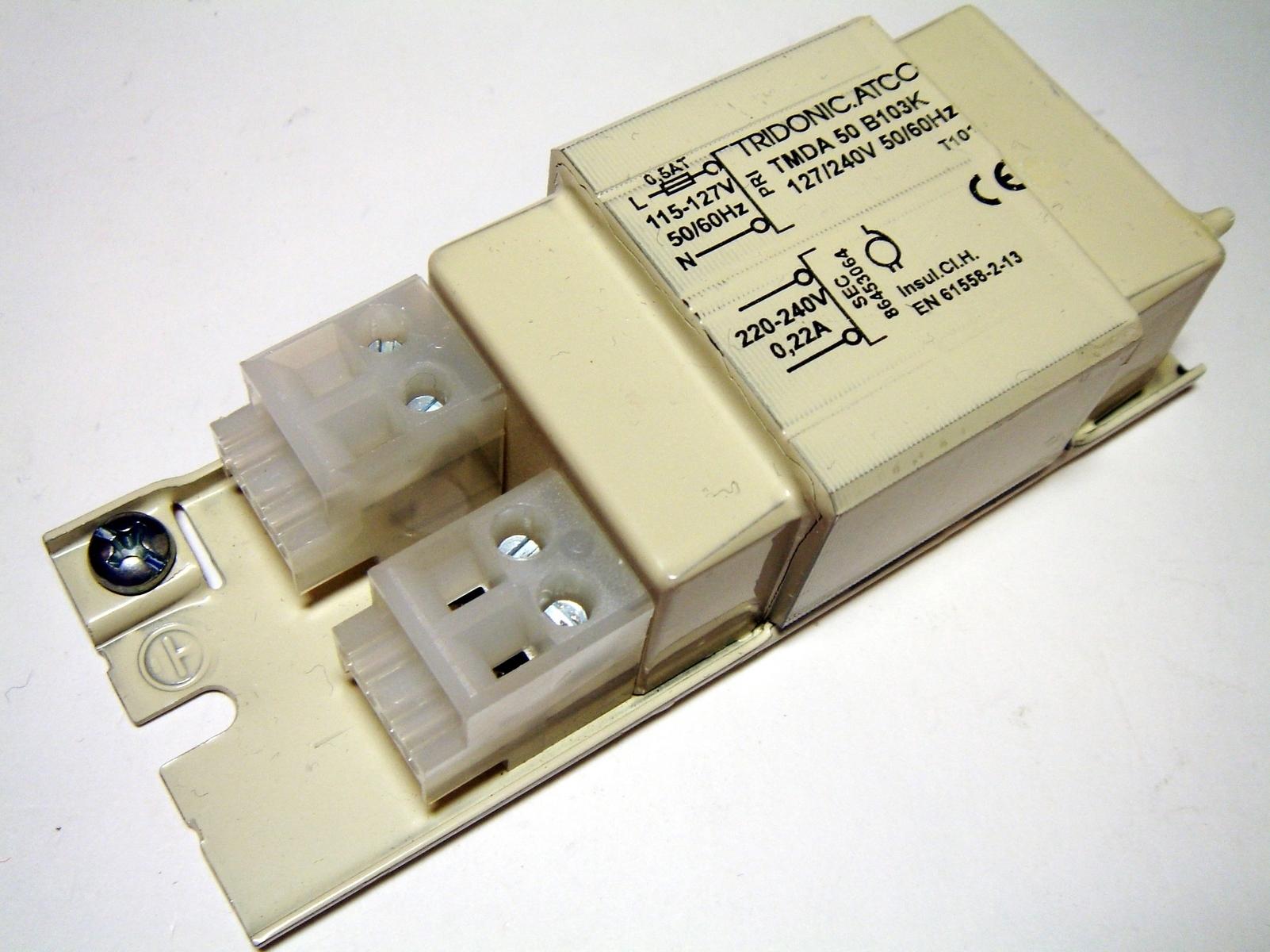 Mehaaniline trafo 50 W, TMDA 50 B103K 127/240V, Tridonic Atco, 86453064