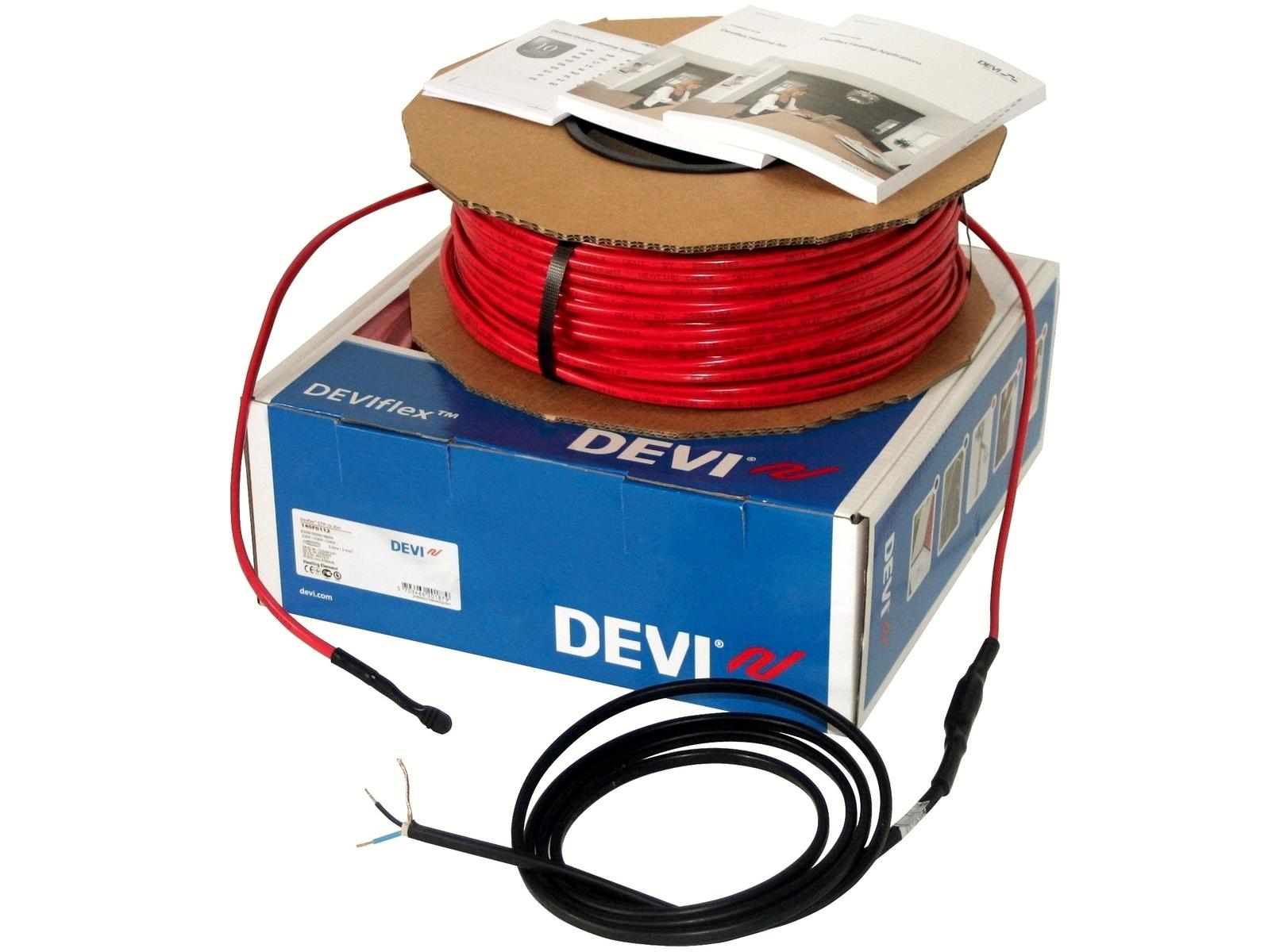 Ostan küttekaablit Deviflex 1575 W, 160 m, 230 V, DTIP-10 W/m, 140F1231
