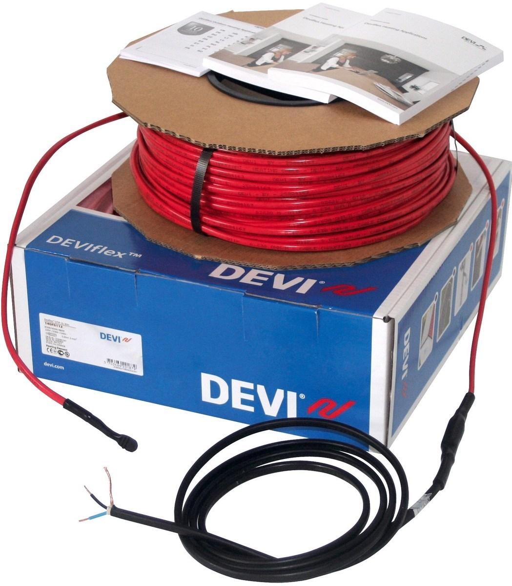 Ostan küttekaablit Deviflex 1760 W, 180 m, 230 V, DTIP-10 W/m, 140F1232