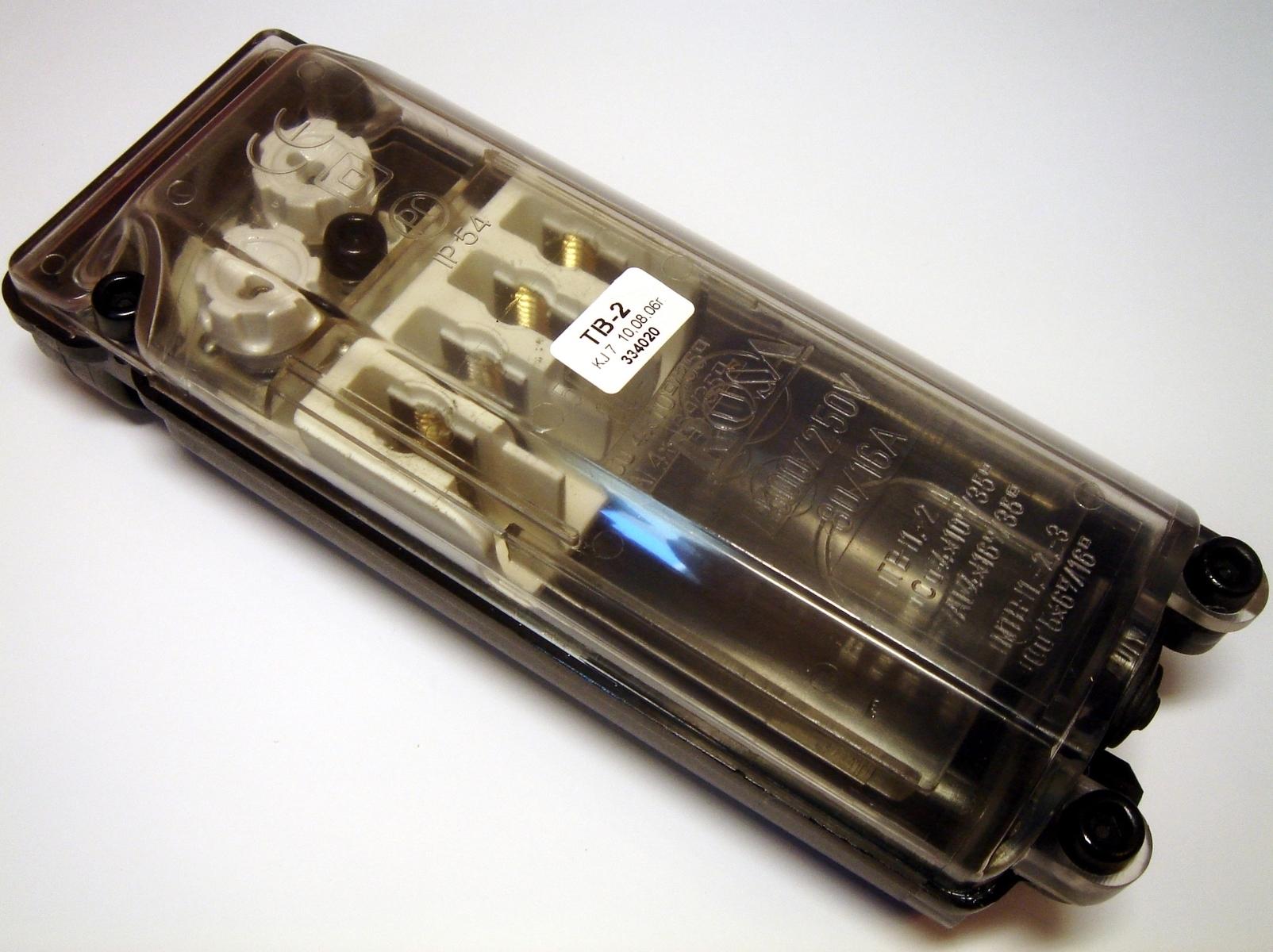 Tänavavalgustusposti ühenduskarp TB-2, Rosa, 334020