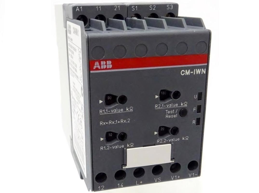 Isolatsioonitakistuse kontrollirelee CM-IWN.1, ABB, 1SVR650660R0200