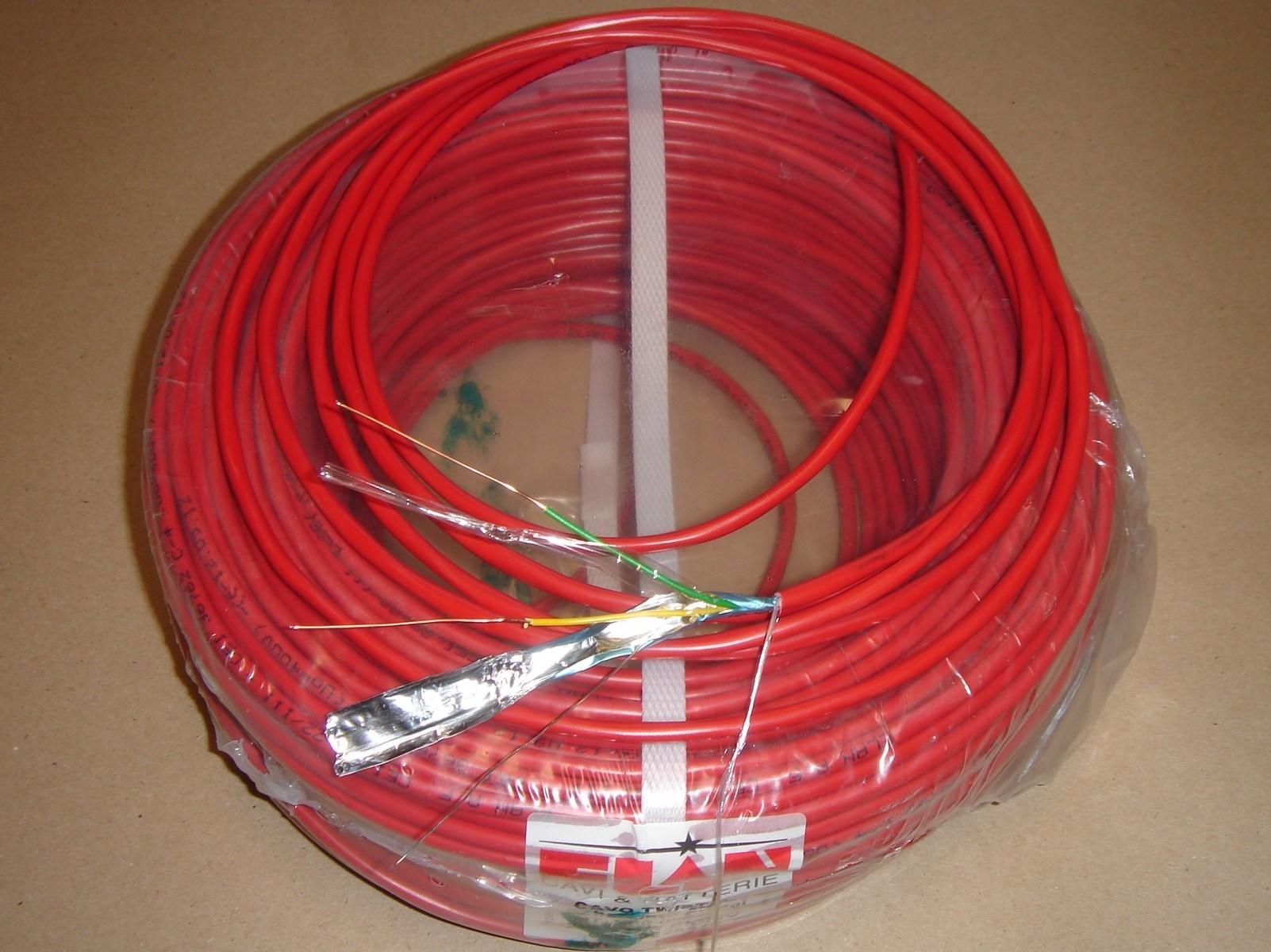 Signalisatsioonikaabel 2x1 punane