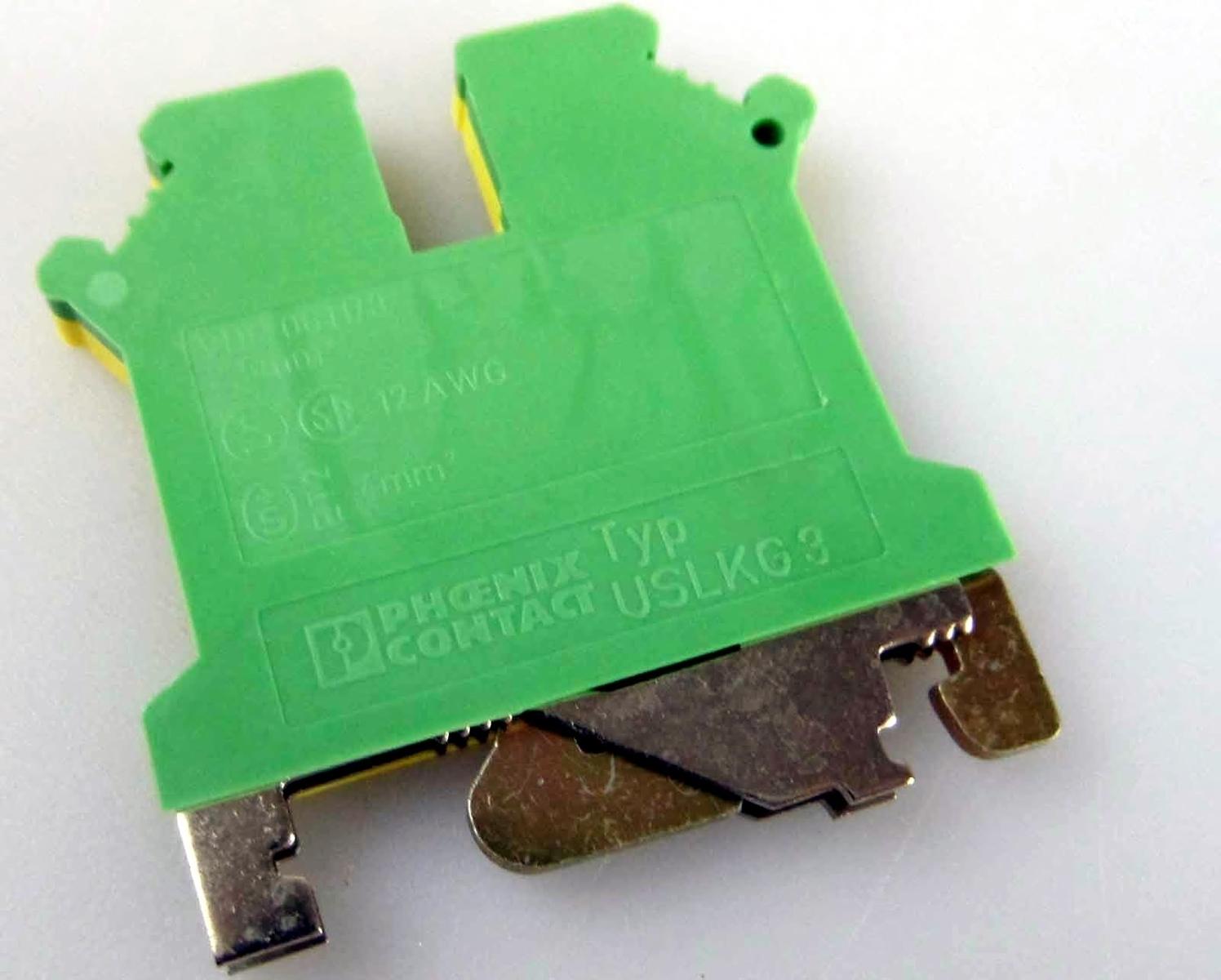 Riviklemm 2,5 mm², ko/ro, Phoenix Contact, USLKG 3, 0441083