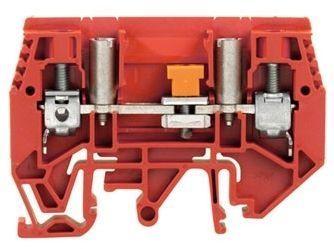 Mõõteklemm 6 mm², punane, Weidmüller, WTL 6/1 EN STB RT, 1019710000