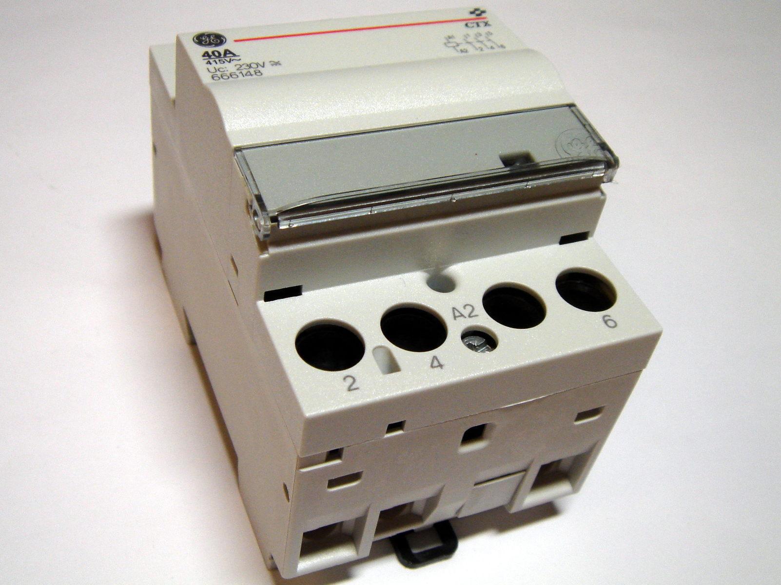 Moodulkontaktor 3-faasiline 40A(26kW), CTX 403052, General Electric, 666148