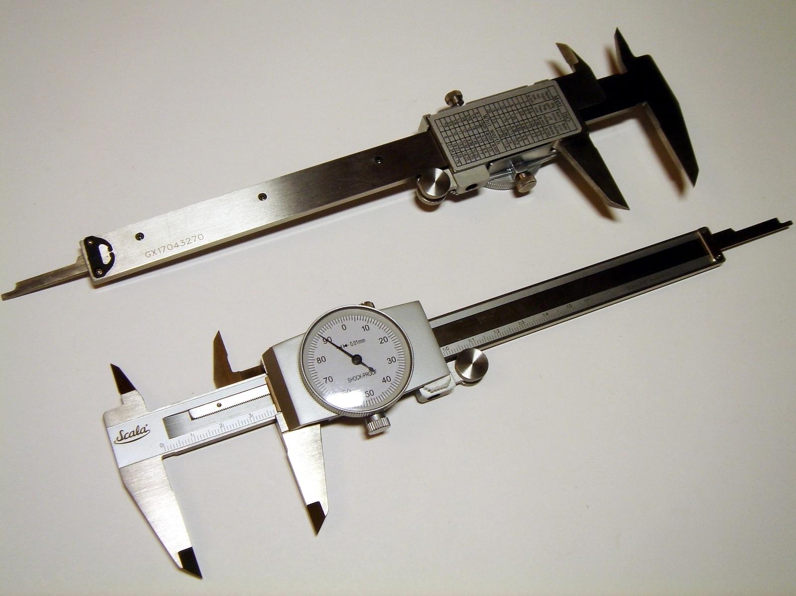 Nihik-indikaator 150/0,01/40mm, Scala, SC070
