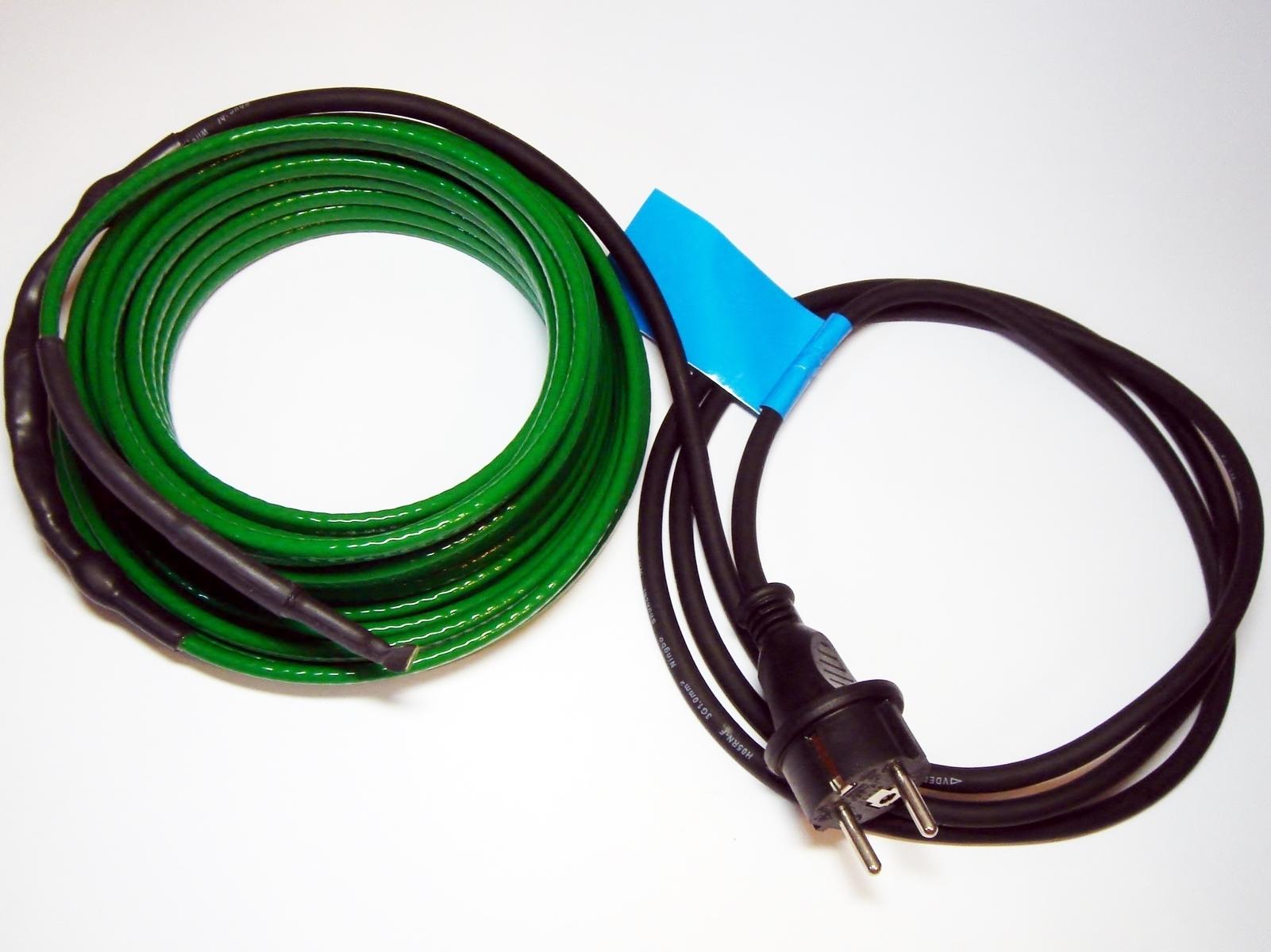 Torusoojenduskaabel 200 W, 20 m, 230 V, 10 W/m, Axxel, 9005