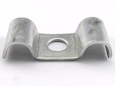 Metallist kaablikinnitus klamber Ø 2x7mm, UEF7, Baks