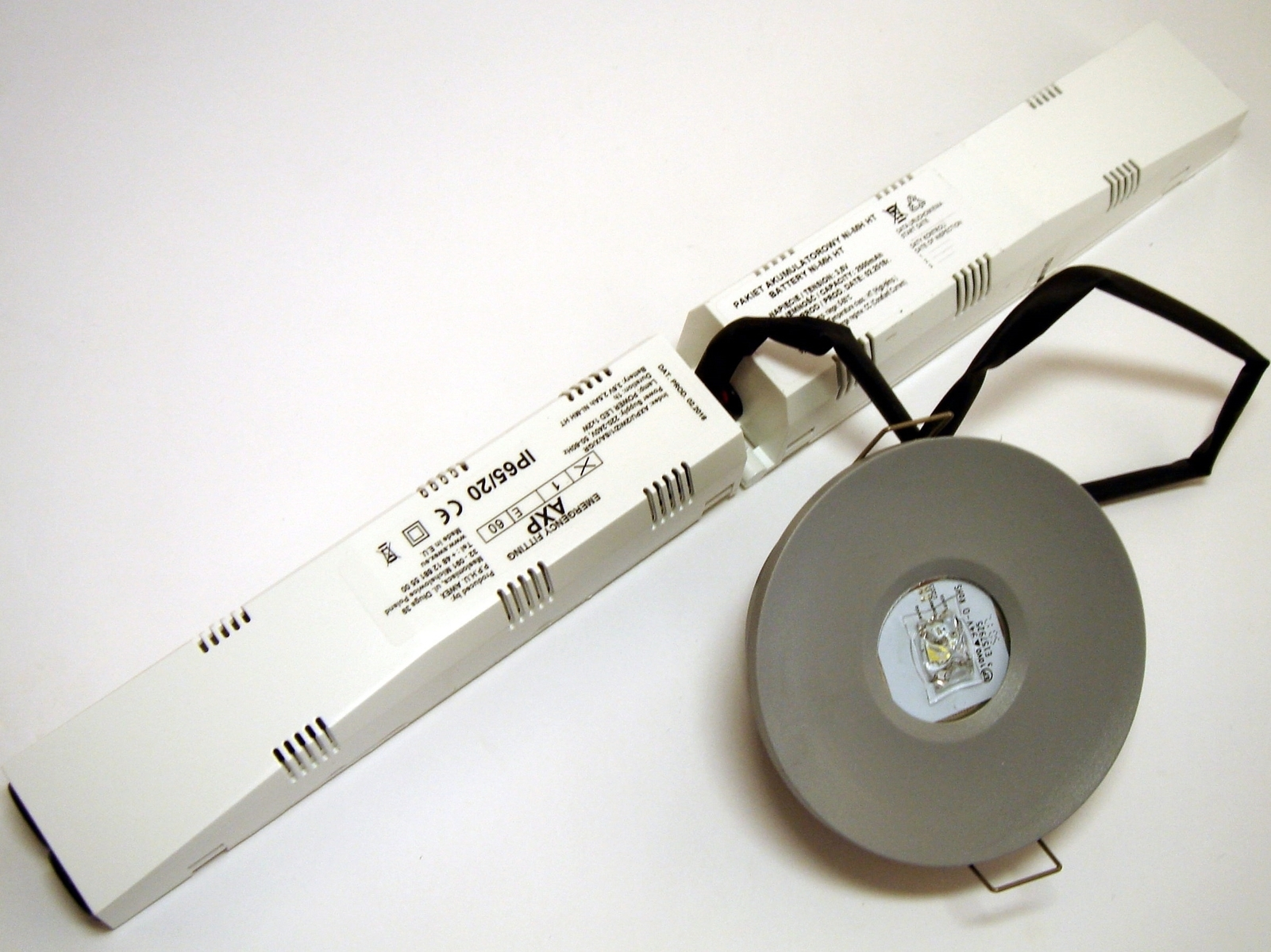 LED avariivalgusti AXPU/2W/Z/1/SA/X/GR, Awex