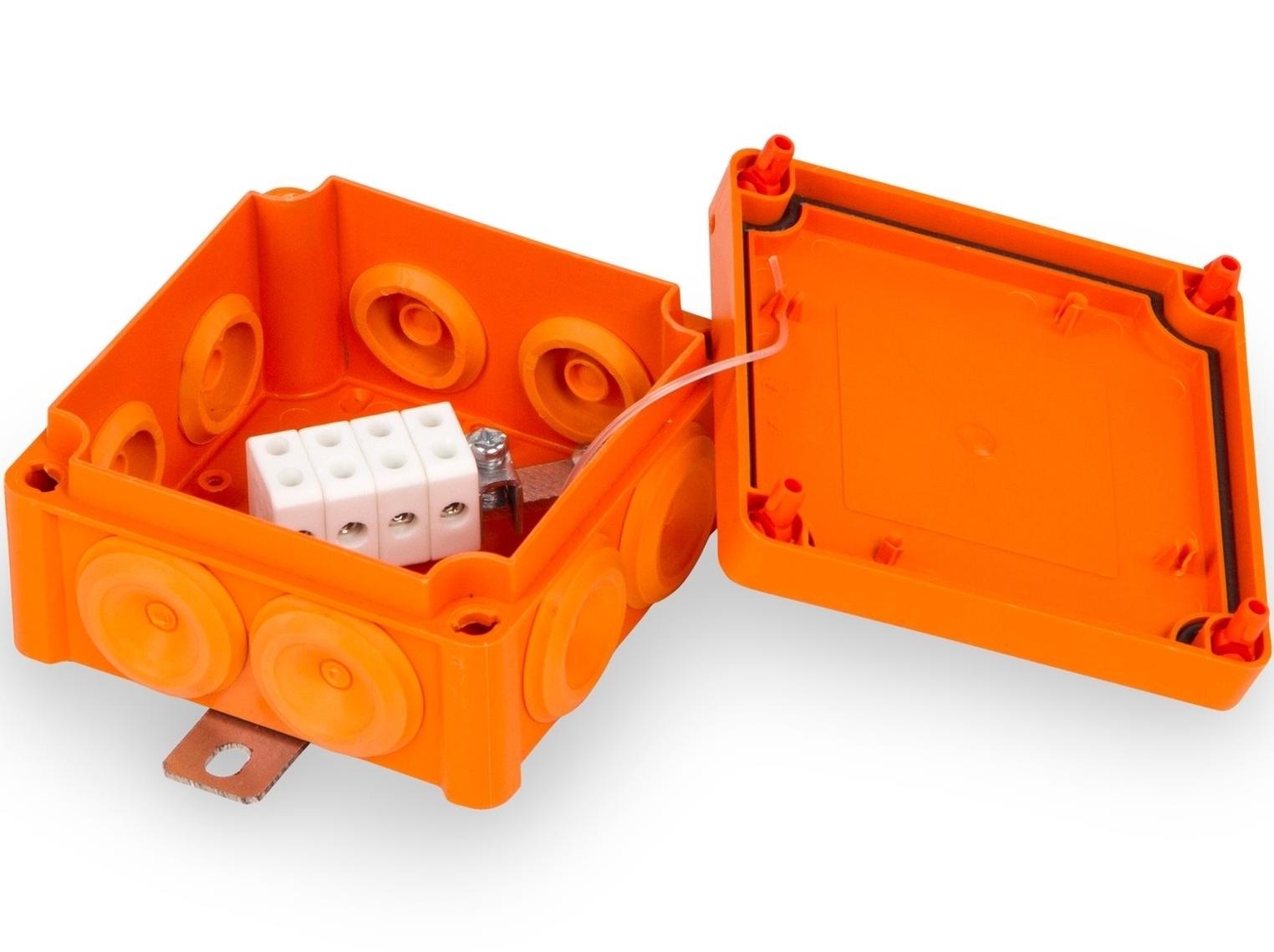 Tulekindel harukarp 100x100x53,5 mm, FPT1010PP46, Ensto Vulcano, E30-90