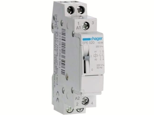 Impulssjuhtimisega relee EPE520, Hager, 236496