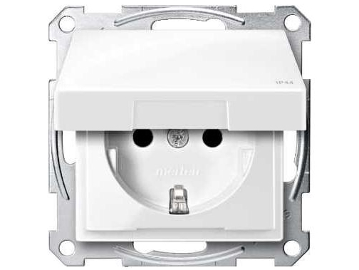 Süvispaigaldusega pistikupesa niiskuskindel Schneider Electric (sari - Merten) MTN2314-0319