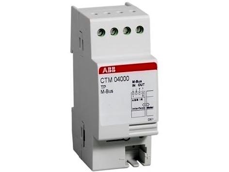 Moodulelektriarvestite ABB näitude kauglugemissüsteem M-Bus Adapter, CTM 04000, 2CMA137090R1000