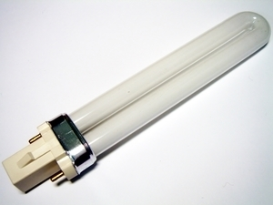 "<p> Kompakt-luminofoorlamp 9 W, Luxram Bona-S, 9W/827/G23, <span style=""color:#ff0000;"">2-PIN</span>, 608823090</p>"