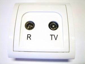 TV - antenni süvispaigaldusega pistikupesa MA10.01/11, Kontakt-Simon (sari - Classic)