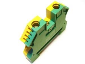 <p> Riviklemm 10 mm², ko/ro, Weidmüller, WPE10, 1010300000</p>