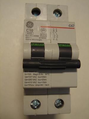 <p> Ostan moodulkaitselüliteid 2-faasilisi, B 10A ja C 10A, General Electric</p>