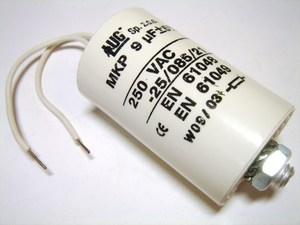 <p> Kondensaator MKP9 μF, Lug</p>
