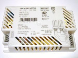 Elektrooniline drossel 2 x 9/11/13 W, Tridonic Atco, PC 2/9/11 TCS PRO, 22176028