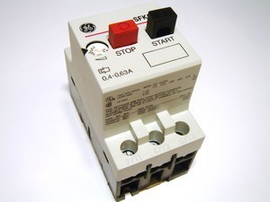 Mootorikaitselüliti 3-faasiline 0,4 - 0,63A, General Electric, SFK0D, 120004