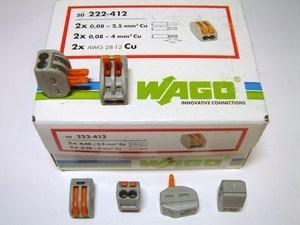 <p> Ostan Wago klemme 2 x 2,5 mm² (avatavaid)</p>