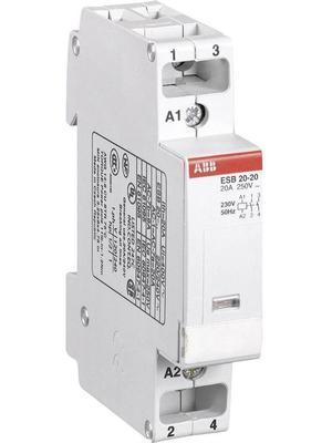 <p> Moodulkontaktor 1-faasiline 20A(4,5kW), ESB 20-20, ABB, GHE3211102R0006</p>
