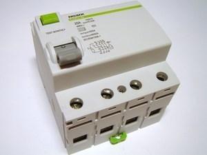 <p> Aвтомат тока утечки 3-фазный 25 A, 30мA(0,03A), Ex9CL-N, Noark, 100616</p>