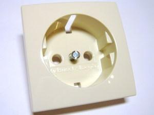 <p> Keskplaat ABB (sari - Basic55), 20EUC-92-507, süvispaigaldusega pistikupesa sisule</p>