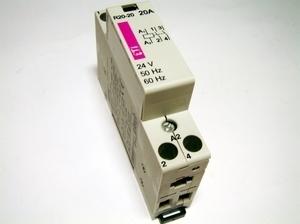 <p> Moodulkontaktor 2-faasiline 20A(4kW), R20-20, ETI</p>