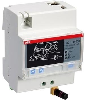 <p> Moodulelektriarvestite ABB näitude kauglugemissüsteem Ethernet Gateway, G13 100-000, 2CMA170552R1000</p>