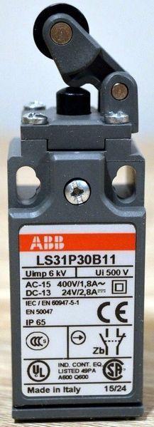 <p> Teekonnalüliti hoovaga ja rullikuga Ø12,5 mm, LS31P30B11, ABB, 1SBV010130R1211</p>