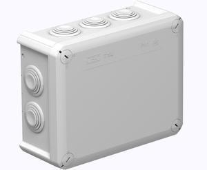 <p> Pinnapealne harukarp 150x116x67 mm, OBO T100KL, 2007436</p>