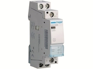 <p> Moodulkontaktor 2-faasiline 25A(4,6kW), ESC225, Hager, 240066</p>