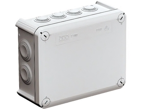 <p> Pinnapealne harukarp 190x150x77 mm, OBO T160F, 2007355</p>