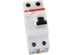<p> Aвтомат тока утечки 1-фазный 40 A, 30мA(0,03A), ABB, FH202A-40/0,03P, 2CSF202102U1400</p>