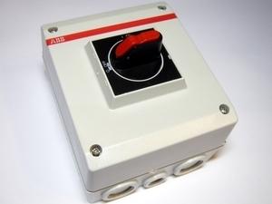 Turvalüliti 3-faasiline 40A(11kW), OTE16T3M, ABB, 1SCA022613R2190