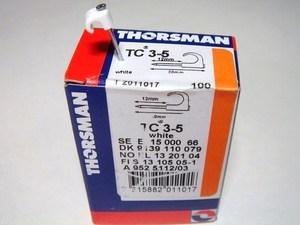 <p> Kaablikinnitus naelklambrid TC 3-5, Thorsman, 2011017</p>